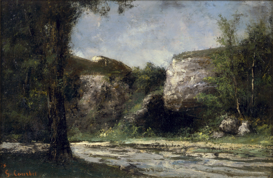 Vallée du Doubs, 1874 by Gustave Courbet (French, 1819 - 1877)