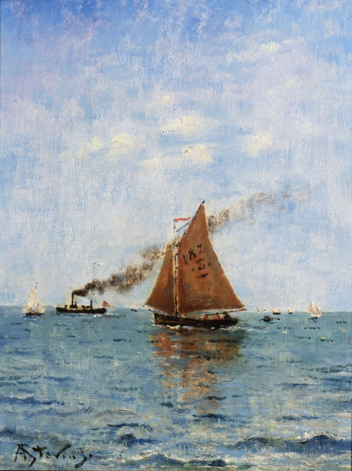 Sailboats and Steamships