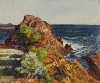 Coastal View by Victor Charreton (French, 1864 - 1936)