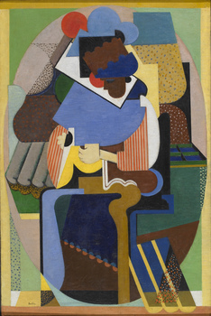 La Créole , 1918 by Auguste Herbin (French, 1882 - 1960)