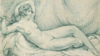 Reclining Nude, 1929 by Richard Guino (French/Catalan, 1890 - 1973)