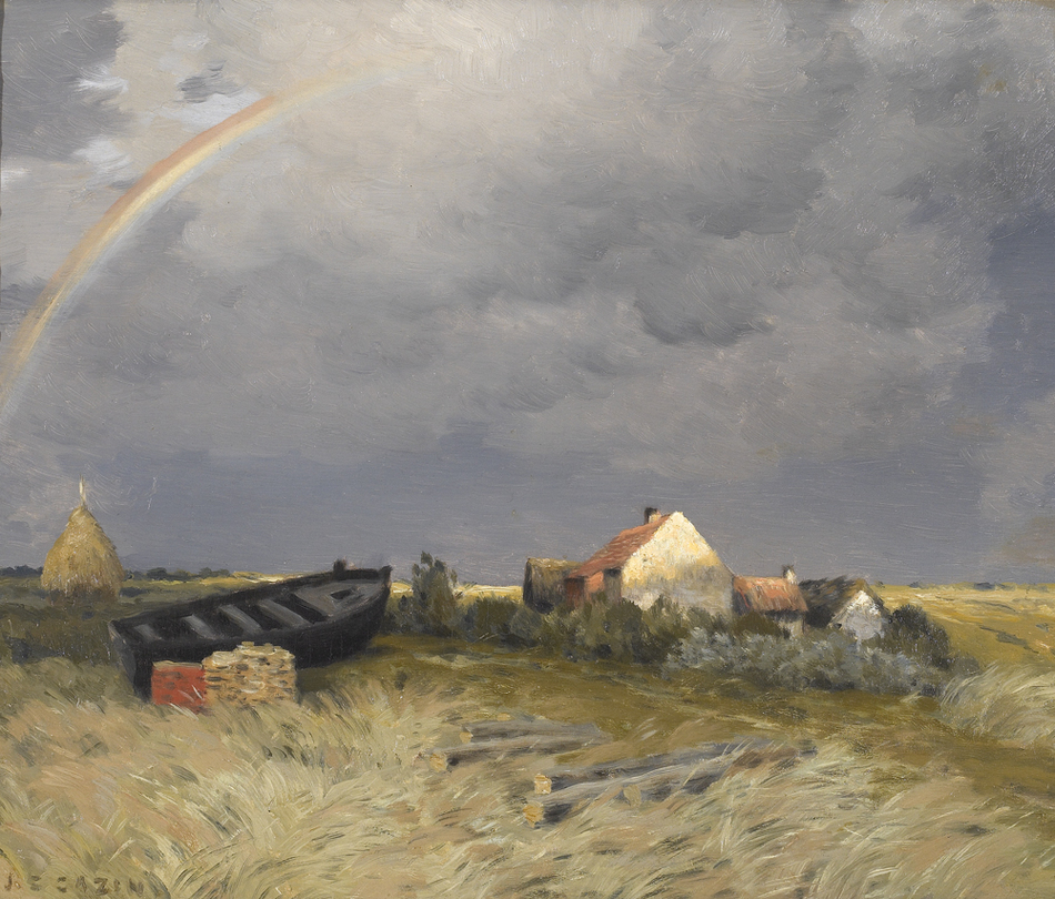 The Rainbow by Jean-Charles Cazin (French, 1841 - 1901)