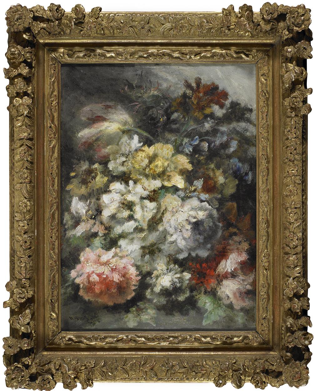 Schiller bodo inventory pivoines et fleurs diverses Fleurs pivoines