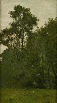 Les Arbres by Léon Richet (French, 1847 - 1907)